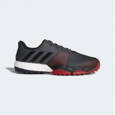 Adidas Adipower S 3 Wide Golf Shoes Mens Onix/Core Black/Scarlet AC8308