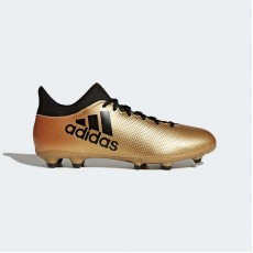 Adidas X 17.3 Firm Ground Cleats Soccer Cleats Mens Tactile Gold Metallic/Black/Infrared CP9190