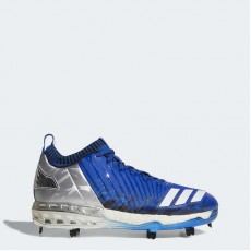 Adidas Boost Icon 3 Faded Cleats Baseball Shoes Mens Blue/Metallic Gold/Black BY3683