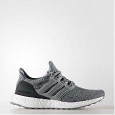 Adidas Ultraboost Running Shoes Kids Grey BY2073