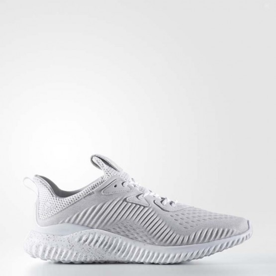 Adidas X Reigning Champ Alphabounce Running Shoes Mens Clear Grey/White/Ice Grey CG4301