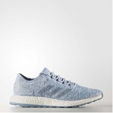Adidas Pureboost Running Shoes Mens Easy Blue/Tactile Blue/White BA8894