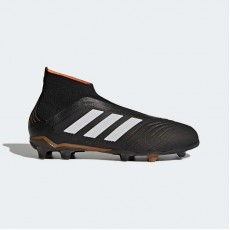 Adidas Predator 18+ Firm Ground Boots Soccer Cleats Kids Core Black/White/Infrared CP8982