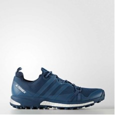 Adidas Terrex Agravic Outdoor Shoes Mens Blue Night/White S80840