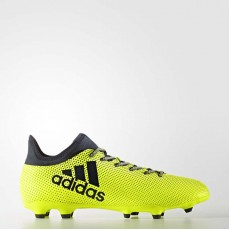 Adidas X 17.3 Firm Ground Cleats Soccer Cleats Mens Solar Yellow/Legend Ink S82366