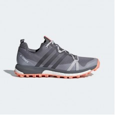Adidas Terrex Agravic Outdoor Shoes Womens Grey/Chalk Coral CQ1732