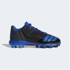 Adidas Icon Molded Cleats Baseball Shoes Kids Core Black/Air Force Blue/Collegiate Royal B39230