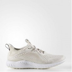 Adidas Alphabounce Em Running Shoes Womens Chalk White/White/Pearl Grey BW1196