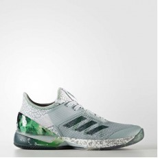 Adidas Adizero Ubersonic 3.0 Jade Tennis Shoes Womens Tactile Green/Forest/Fairway BY1617