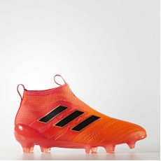 Adidas Ace 17+ Purecontrol Firm Ground Cleats Soccer Cleats Kids Solar Orange/Black/Poppy BY2187