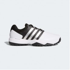 Adidas 360 Traxion Wide Golf Shoes Mens White/Core Black F33776