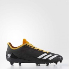 Adidas Adizero 5-star 6.0 Cleats Football Cleats Mens Core Black/White/Gold Solid BW0337