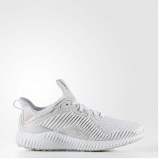 Adidas Alphabounce Running Shoes Kids Grey/White CQ1505
