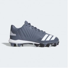 Adidas Icon Molded Cleats Baseball Shoes Kids Onix/White/Silver B39228