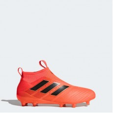 Adidas Ace 17+ Purecontrol Firm Ground Cleats Soccer Cleats Mens Solar Orange/Core Black/Solar Red BY2457