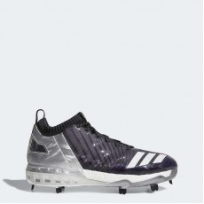Adidas Boost Icon 3 Faded Cleats Baseball Shoes Mens Grey/Metallic Gold/Black BY3684