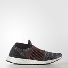 Adidas Ultraboost Laceless Running Shoes Mens Core Black/White S80769