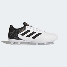 Adidas Copa 18.2 Firm Ground Cleats Soccer Cleats Mens White/Black/Tactile Gold Metallic BB6357