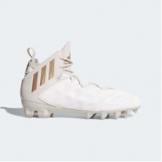 Adidas Freak Lax Mid Cleats Lacrosse Cleats Mens Chalk White/Copper Metalic/Clear Brown CG4256