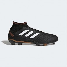 Adidas Predator 18.3 Firm Ground Cleats Soccer Cleats Mens Core Black/White/Infrared CP9301
