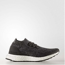Adidas Ultraboost Uncaged Running Shoes Kids Core Black/Solid Grey BY2078