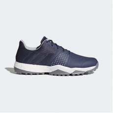 Adidas Adipower S Boost 3 Golf Shoes Mens Trace Blue/Silver Metallic F33582