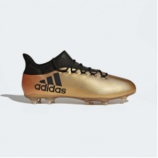 Adidas X 17.2 Firm Ground Cleats Soccer Cleats Mens Tactile Gold Metallic/Black/Infrared CP9186