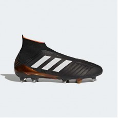 Adidas Predator 18+ Firm Ground Cleats Soccer Cleats Mens Core Black/White/Infrared BB6316