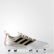 Adidas Ace 17.3 Firm Ground Cleats Soccer Cleats Womens Platinum Metallic/Black/Core Red BA8556