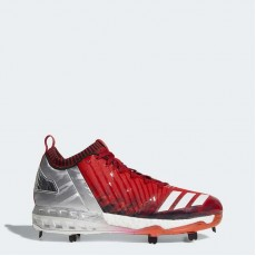 Adidas Boost Icon 3 Faded Cleats Baseball Shoes Mens Red/Metallic Gold/Black BY3682