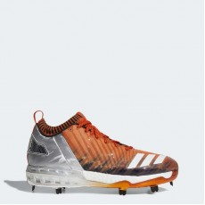Adidas Boost Icon 3 Faded Cleats Baseball Shoes Mens Orange/Metallic Gold/Black BY3686