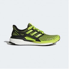 Adidas Energy Boost Running Shoes Mens Solar Slime/Core Black CP9542