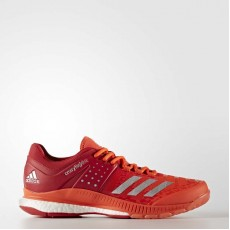 Adidas Crazyflight X Volleyball Shoes Mens Scarlet/Metallic Silver BY2585
