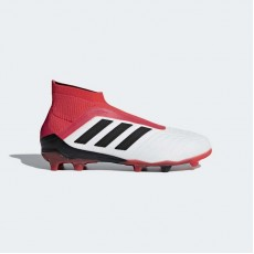 Adidas Predator 18+ Firm Ground Boots Soccer Cleats Kids White/Black CP8983