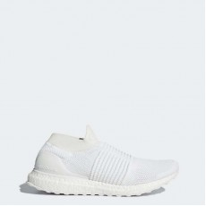 Adidas Ultraboost Laceless Running Shoes Mens White S80768
