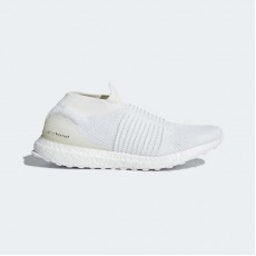 Adidas Ultraboost Laceless Running Shoes Mens White BB6146
