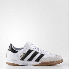 Adidas Samba Millennium Leather In Soccer Cleats Mens White Ftw 661694