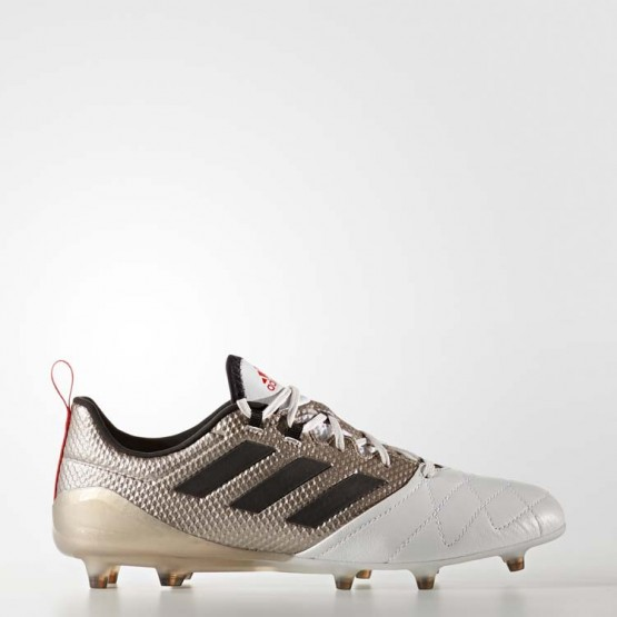 Adidas Ace 17.1 Firm Ground Cleats Soccer Cleats Womens Platinum Metallic/Black/Core Red BA8554