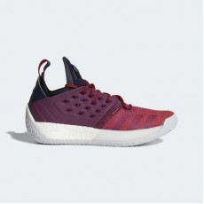 Adidas Harden Vol. 2 Basketball Shoes Mens Bold Red/Light Solid Grey AH2124