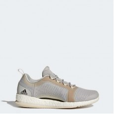 Adidas Pure Boost X Trainer 2.0 Training Shoes Womens Grey/White BB3286