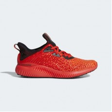 Adidas Alphabounce Running Shoes Kids Core Red/Black/Warning CQ1506